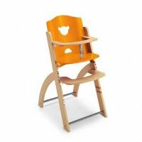 Pappy Re 熊寶寶成長餐椅-橘色-單椅