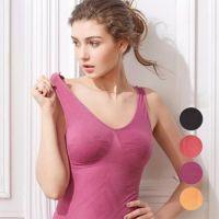 百搭塑型 專利休閒 Bra-T-葡萄紫/魔力紅/橙橘色/百搭黑 (M [胸圍34-36吋])-4 件組