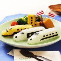 火車造型米飯模具