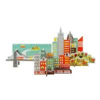 立體組裝拼圖-城市之旅 - 紐約