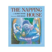 有聲書-NAPPING HOUSE/BK+CD
