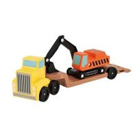 MD 交通-挖土機拖車