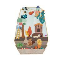 創意壁貼玩具-夢幻花園