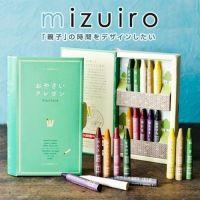 日本製 mizuiro 天然環保蔬菜蠟筆
