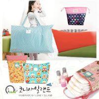 韓國 Coney Island 防水睡袋收納袋 / 尿布墊 / 便當束口袋