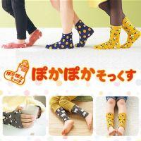 【日本丸和】ぽかぽか PokaPoka 保暖系列-親子襪套 / 室內防滑襪 / 保暖手套