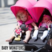 西班牙 BABY MONSTERS Easy Twin 3S 第三代雙人嬰幼兒手推車