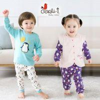 韓國 Cordi-i 保暖鋪棉背心 ✖ 緹花純棉長袖家居服