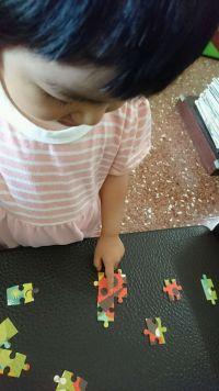 美國 Petit Collage 童話風拼圖 給2Y以上的寶貝❤小拚圖/方塊拼圖/地板拼圖/初階拼圖/疊疊樂❤ 質感精緻,花色童趣,通通都好玩! by PanPan
