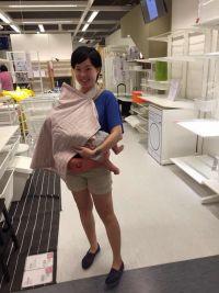 外出哺乳最推薦!美國 Bebe au Lait 時尚哺乳巾 市場最低價65折↘ 透氣不悶熱、不走光,哺乳也能時尚又愜意,寶寶看得見好有安全感 ♥ by 咪頭