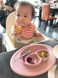 【美國ezpz】快樂餐盤 Happy Mat / Happy Bowl 六個月以上就能用,結合餐墊、餐盤!好收、好洗,完美吸附桌面,不擔心寶寶吃飯傾倒! by Amy Hung