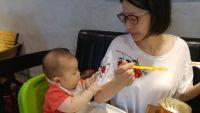 【小獅王辛巴】兒童水杯八月份網路獨家!副食品好物! 四到八個月寶寶看過來!嚴選 PPSU 食品級頂級材質安全,耐摔、耐高溫又實用! by Ivy Chen