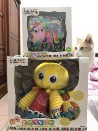 美國國民品牌 ❤ Lamaze 拉梅茲✩布書玩具 榮獲 150 項國際大獎!新生寶貝最安心 ♛正品布料 ✖ 專家研發  ☞ 啟發好奇寶寶的視覺、觸覺發展 ♫ by Amy Hung