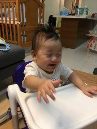 英國 Flippa Apramo 折疊餐椅 全新版餐椅,可折疊、安全、不占空間、重量輕、好攜帶! by Ming Hsieh