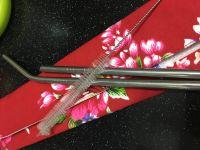 【QC館】日本鋼材食品級不鏽鋼吸管 / 環保餐具袋 使用 SUS304 / SUS316L 不鏽鋼材質 ❤ 遠離塑化劑 by Kuo Shucheng