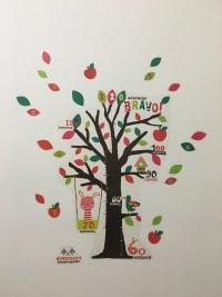 日本丸和童趣居家裝飾 壁貼成長尺 / 壁貼 / 玻璃貼✿可愛插畫風壁貼,讓居家環境更溫馨! by Mel C