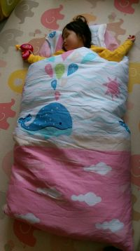 【日本 濱川佐櫻】 MIT 純棉冬夏兩用兒童睡袋 ♡ 被胎可拆、四季通用,純棉親膚舒適、價格平實!寶貝、荷包都開心~ by Po-ying Wu