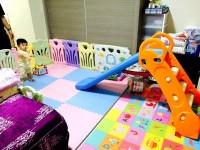 美國 Grow'n Up 溜滑梯 給1~6Y的寶貝☀兩用滑梯 / 野餐桌椅 / 遊戲堡 / 三用收納,家裡就是遊樂園! by Lin Yi Hui