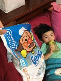 日本境內限定 Genki 麵包超人尿布 麵包超人來啦~ 怎麼動都不怕漏!空氣感的蓬鬆柔軟呵護,透氣吸水屁屁好乾爽 by Alice Zheng