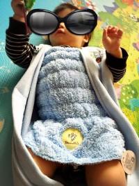 加拿大 Bonne Nuit Baby 美人魚肚圍 用棉花糖般柔軟的超柔細纖維保暖小肚肚 by ms.allie