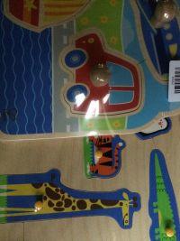 德國【Hape】天然實木質感立體拼圖 ✖ 配對拼圖 1~4 歲超好玩拼圖 ✪ 天然實木+植物性水染漆 ☞ 鮮豔繽紛易抓取 ✪ 打開寶貝探索認知 by Shin