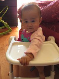 英國 Flippa Apramo 折疊餐椅 馬卡龍新色加入!全新版餐椅,可折疊、安全、不占空間、重量輕、好攜帶! by 楊佩寗