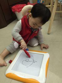 史上最好玩!新版第二代 K's Kids 磁性畫板 48面學習卡+塗鴉本♚台灣限定款 魔法畫畫組♚形狀配對、認識時間 各種主題玩不膩! by 黃小敔