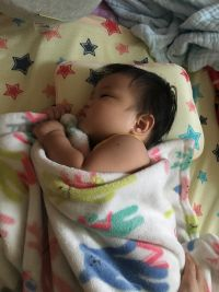 韓國 GIO Pillow 超透氣護頭型嬰兒枕 ✕ 有機棉排汗嬰兒床墊 ✔韓國設計當地製造✔立體支撐、排汗透氣、可水洗防塵蟎✔護頭型枕,維持圓圓頭型~❤ by 邱珊珊