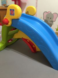 美國 Grow'n Up 溜滑梯 給1~6Y的寶貝☀兩用滑梯 / 野餐桌椅 / 遊戲堡 / 三用收納,家裡就是遊樂園! by Yi Rong Lee