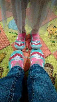 Collegien 室內鞋襪 ✿  新品暖呼呼上市,不怕地板冷冰冰! 是襪子也是鞋子 ✿ 法國老品牌手工製作 ✿ 防滑好穿,保暖透氣 ✿ 還有大人款! by 李巧琦
