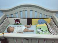 從小用到大 ♥ LEVANA 頂級兒童成長床 嬰兒床/ 兒童床/ 沙發床 3-in-1 ♛ 進口高級實楊木,溫潤光澤質感 ✿ 固定式圍欄安全 100%! by Fio